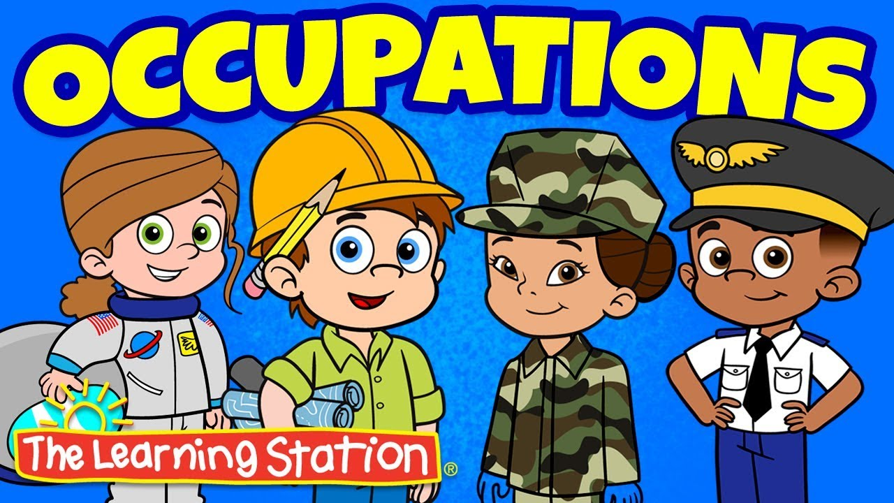 medium resolution of occupations song community helpers kids song best kids songs career song the learning station