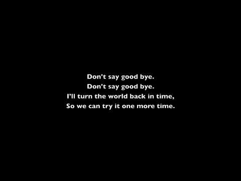 Don't Say Goodbye-Kapena