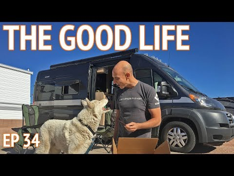 Retirement Life at an RV Resort in Mesa Arizona | EP 34 Camper Van Life