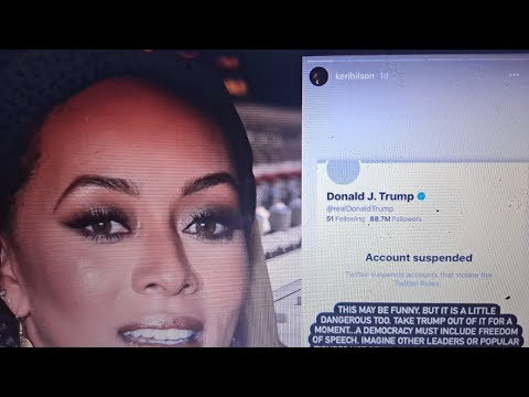 my analysis on Kerry Hilson Twitter Comments and Backlash