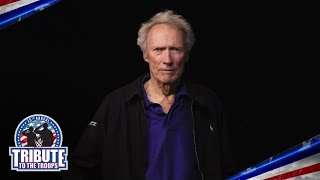 Hollywood icon Clint Eastwood pays tribute to the U.S. Armed Forces
