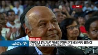 Kathrada's widow Barbara Hogan calls on Zuma to step down