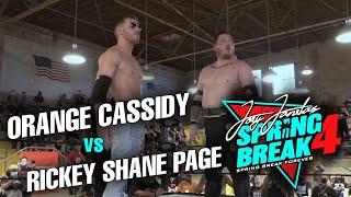 Orange Cassidy vs Rickey Shane Page @ GCW Presents: Joey Janela's Spring Break 4
