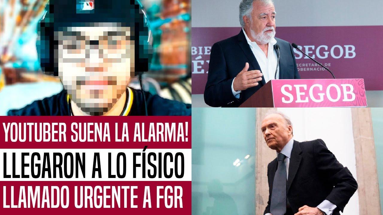 Download YOUTUBER PROAMLO SUENA LA ALARMA! LLEGARON A LO FÍSICO. FISCALÍA Y SEGOB EN ALERTA. NOTICIAS HOY