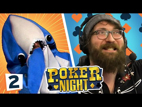 CARD SHARKS AND PUPPY POKER | Yogscast Poker Nights 2019