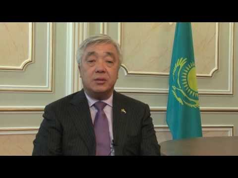 Festive message from H.E. Erlan Idrissov, Foreign Minister of the Republic of Kazakhstan