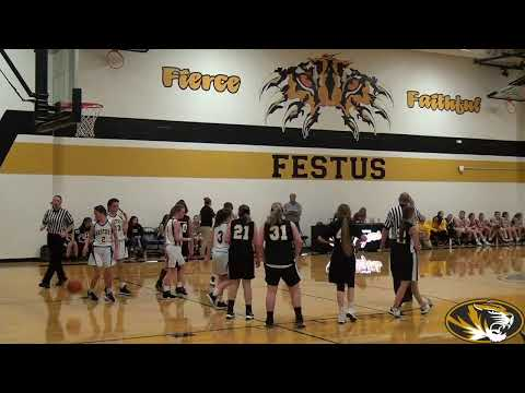 Festus Middle School vs Grandview Girls Basketball