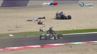 الصيني لي تشونج في حادث سباق فورمولا3