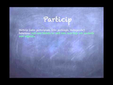 Grammatik - ordklasser CC-BY-NC