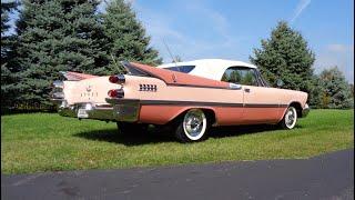 1959 Dodge Custom Royal Lancer Super D500 Convertible in Rose Quartz My Car Story with...