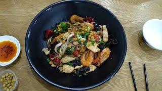 Сычуаньская кухня. Фошань. Китай (Sichuan food. Foshan. China)