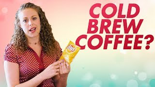 One Simple Health Tip! Benefits of Cold Brew Coffee, Cold Pressed Oils & Juice, Tea, Nutrition