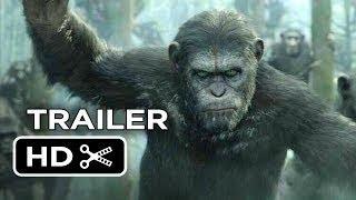 "Планета обезьян: Революция - Русский трейлер ""2014"" [HD]"