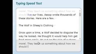 Typing Test Online