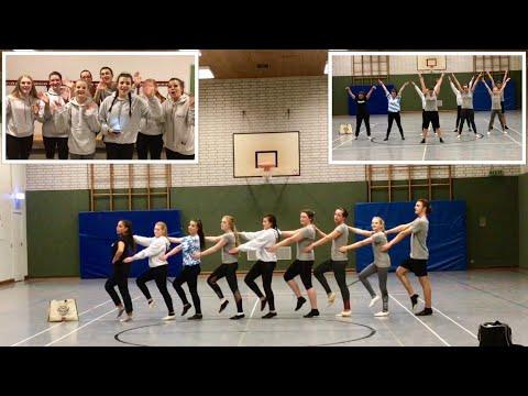 Unser Garde Tanz Training 💃 1. TSV Bottrop mein neuer Verein 😍 Turnier Garde