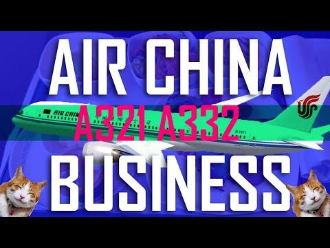 AIR CHINA | BUSINESS CLASS A332 A321 Shanghai Tokyo Trip Report London Shanghai Tokyo Blond Report