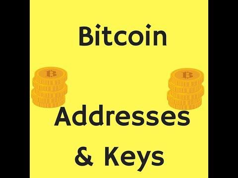Bitcoin Addresses & Keys