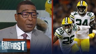 Cris and Nick praise Packers defense in Week 1 win over Bears | NFL | FIRST THINGS FIRST