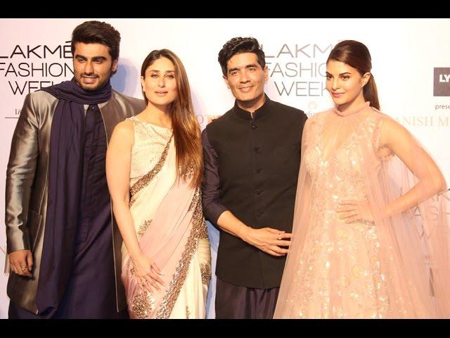 Manish Malhotra's Lakmé Fashion Week Show Was A Star-Studded Celebration