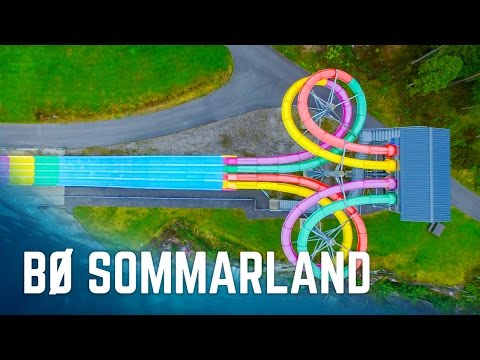 ALL SLIDES at Bø Sommarland, Norway
