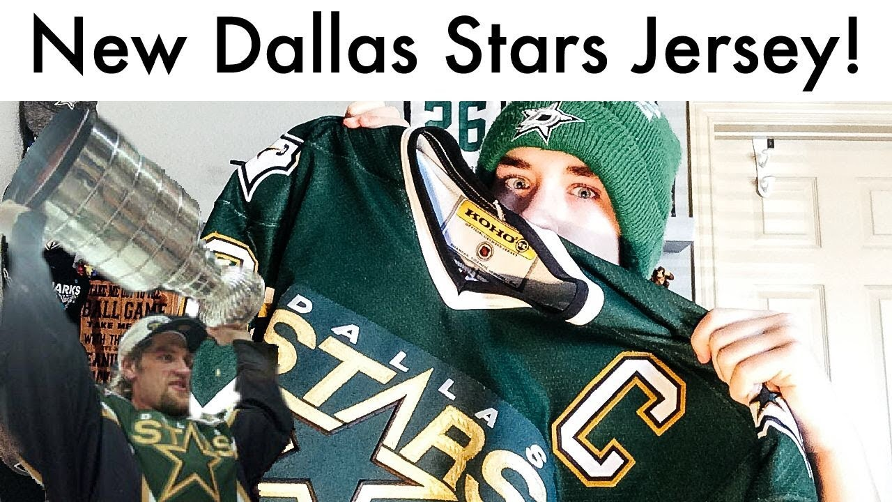 purchase cheap ddaa0 bbe9c Dallas Stars Hatcher Retro Jersey Unboxing!
