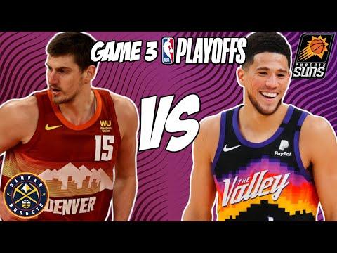 Denver Nuggets vs Phoenix Suns Game 3 6/11/21 NBA Playoff Free NBA Pick & Prediction