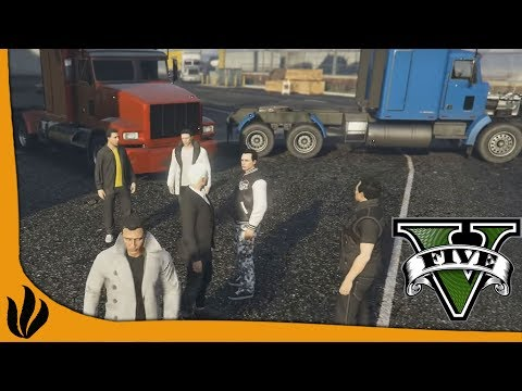 GTA V RP #3 - Le rendez-vous des camionneurs ! (GTA 5)