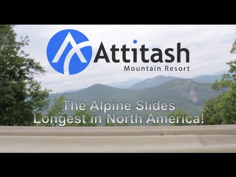 Attitash Mountain Resort Alpine Slide Information Video