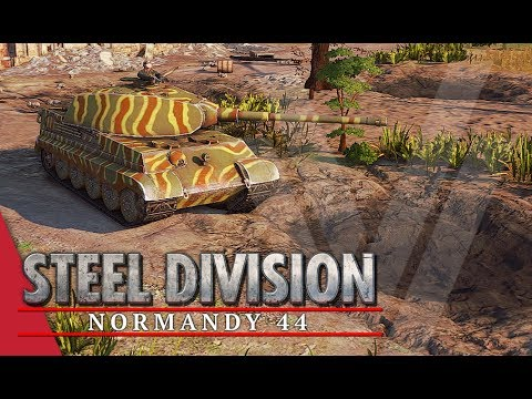 The King Is Here! Steel Division: Normandy 44 Gameplay (Omaha, 3v3)