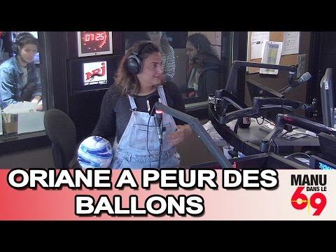 Manu dans le 6/9 - Oriane et sa peur des ballons