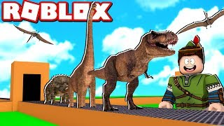 DINOSAUR FACTORY IN ROBLOX!! (Dinosaur Tycoon)