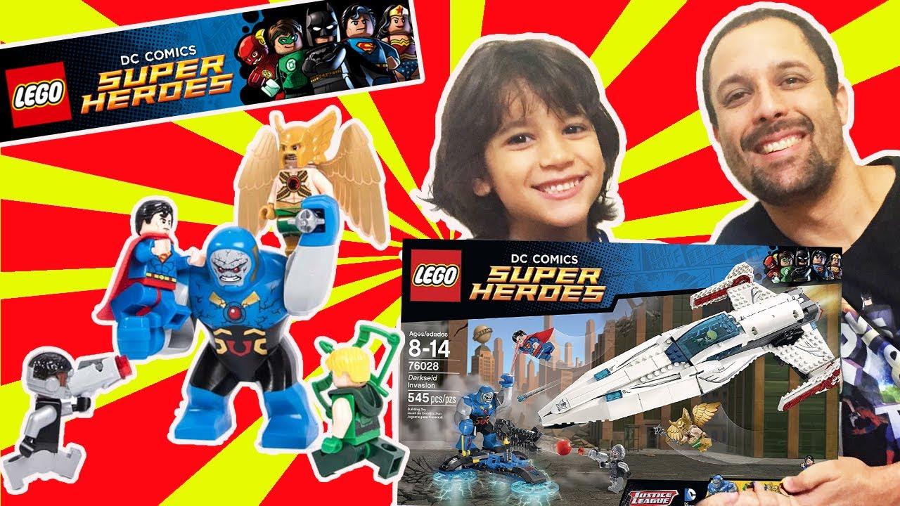 Lego DC Super Heroes Nave da Liga da Justia Javelin Set ...