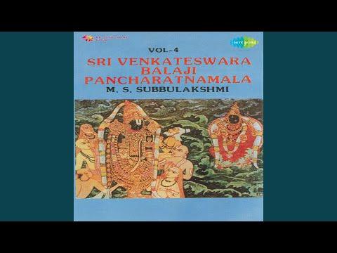 Sri Venkatesa Karavalamba Stotram MSSubbulakshmi