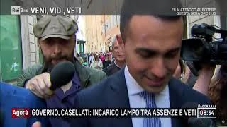 Governo: incarico lampo alla Casellati tra assenze e veti - Agorà 19/04/2018