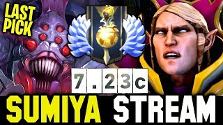 Sumiya Invoker vs Last Pick Broodmother | Sumiya Invoker Stream Moment #1149