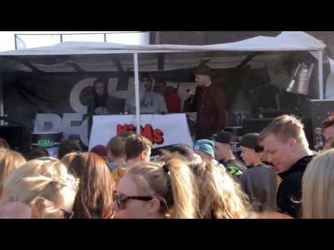 Klumben & TopGunn: X Faktor - CHEFF Records - Nu Som Chips launch-event i Hillerød