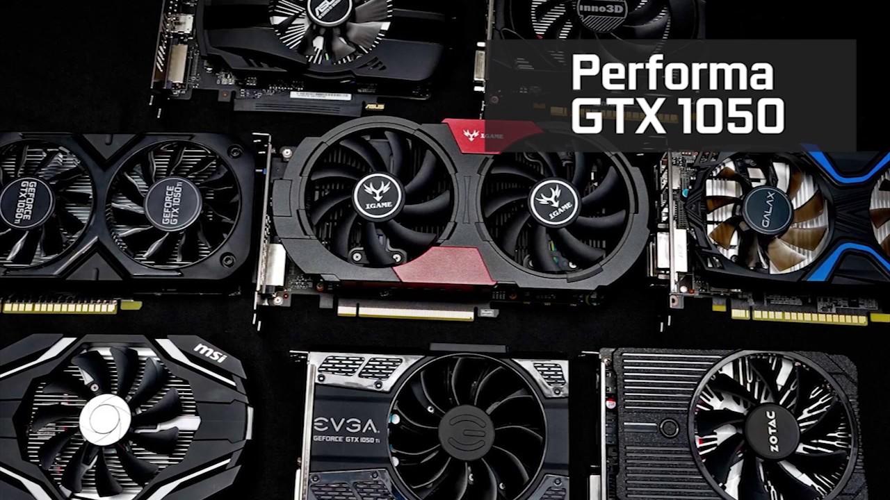 Review Singkat GTX 1050 dan 1050 Ti