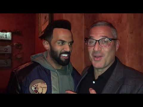 Craig David and his Immigration Lawyer Michael Wildes