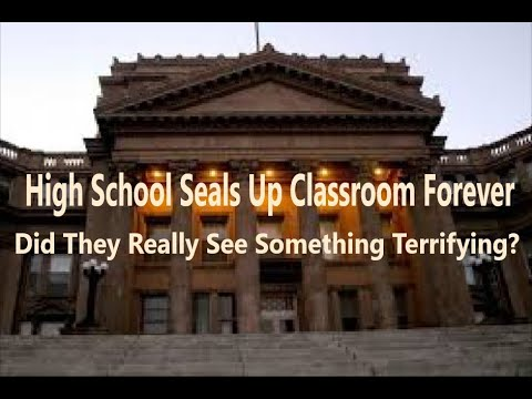 Classrooms Sealed Forever Because Of Something So Terrifying! (Most Haunted School In America)