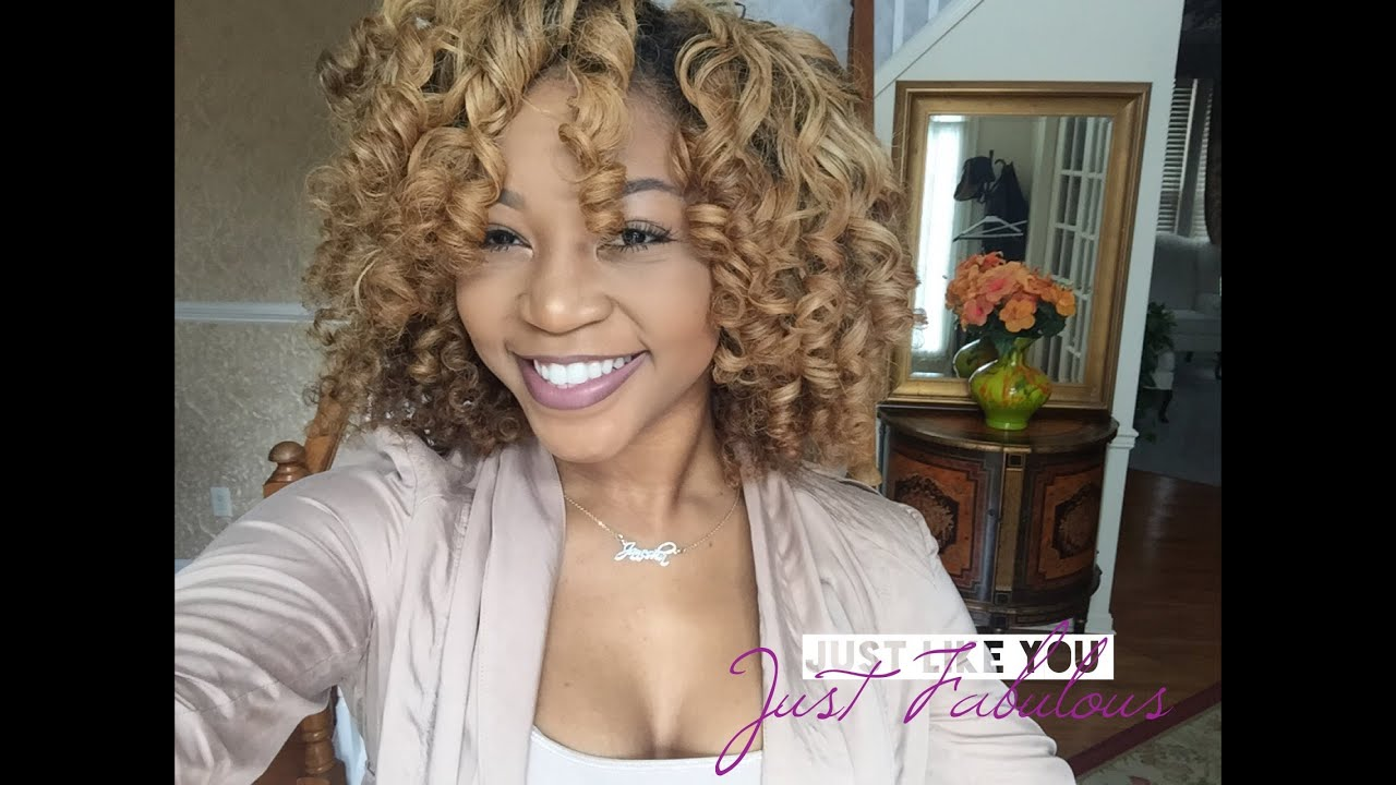 THE BEST ROLLER SET STYLE ON KINKY CURLY HAIR