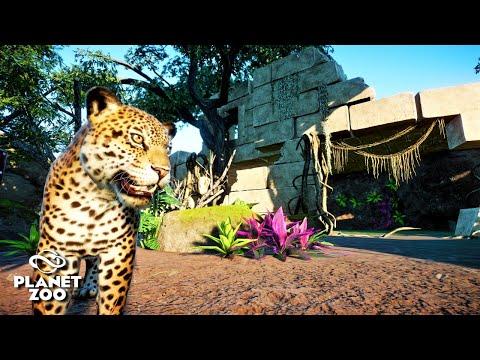 Planet Zoo | Oak Creek Zoo 🦓 | Ep.19 Jaguar Habitat | South America Pack DLC