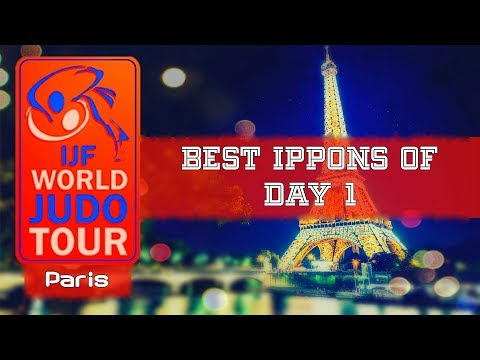 Best ippons in day 1 of Judo Grand Slam Paris 2018