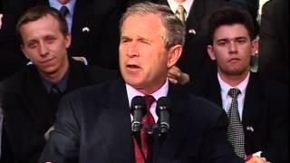 Prezydent USA Georg W. Bush cytuje Ściernisco (15.06.2001)