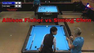Allison Fisher vs Siming Chen ACD 2018