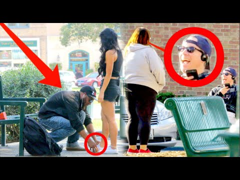 Will Guys Help a Skinny Girl or Cute Fat Girl? Is CHIVALRY Dead? Social Experiment part 2