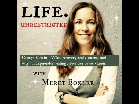 LU 045: Carolyn Costin – What recovery means & why undiagnosed eating issues can be the worst.