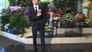 Бутоньерка для жениха от салона цветов САН-СИТИ