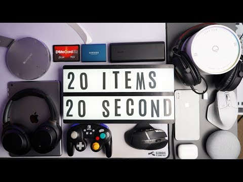 20 Tech Gifts each in 20 Seconds or Less