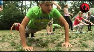 Уроки рукопашного бою у таборі