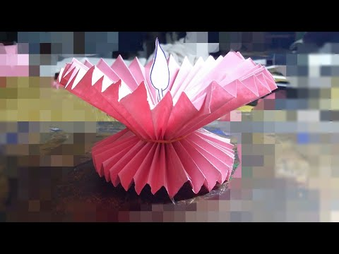 Diwali Decorations | Paper Diya | Paper Craft Idea | Festive Decorations
